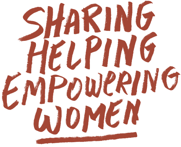 sharing helping empowering women
