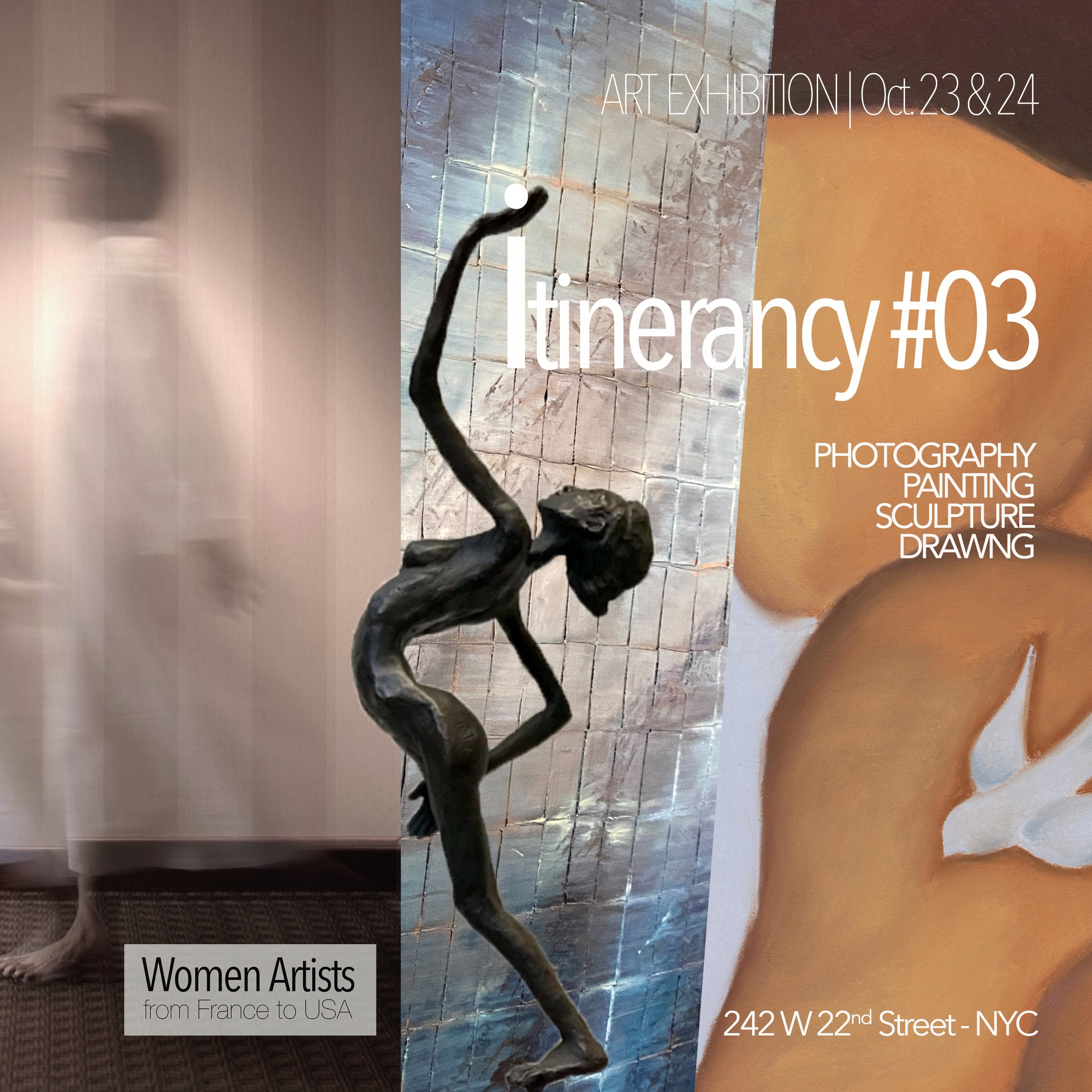 Women Artists from France to USA - Itinerancy #3